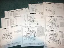 1984 84 1983 83 HURST OLDS OLDSMOBILE LIGHTNING ROD INSTRUCTION