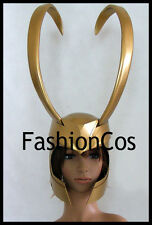 The Avengers Movie Loki Laufeyson cosplay  helmet  pvc standard