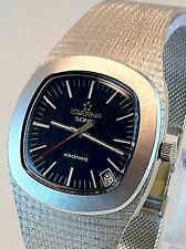 Stunning Eterna Sonic Electronic 95g x 18k Solid White Gold Immaculate Cond.