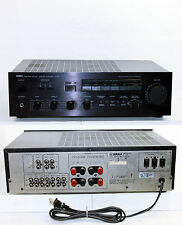 Vtg Yamaha A-520 Stereo Integrated Amplifier 75Watts Per Channel, Tested Works!