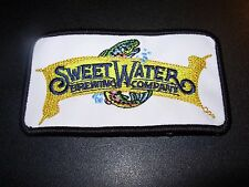 SWEETWATER BREWING CO sweet water Fish Logo PATCH label craft beer brewery