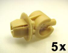 5x Befestigungsclips Motorhaubenstütze Audi VW Motorhaubenhalter 6N0823397 NEU
