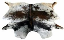COW HIDE RUGS AREA RUG ANIMAL SKIN (54'' x 59'') COWHIDE ULG-1909