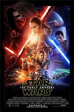 """Star Wars: Episode VII - The Force Awakens Movie  Art Wall Poster 36""""x24""""  004"""