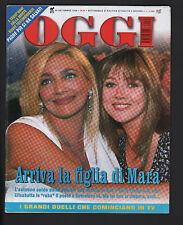 OGGI 40/1998 MARA VENIER VERONICA PIVETTI PEPPINO DI CAPRI MATTEO PENNACCHI
