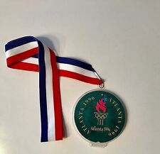 "Rare Atlanta 1996 Olympic Games Chocolate ""FLAME"" Medal - MINT - VERY RARE"