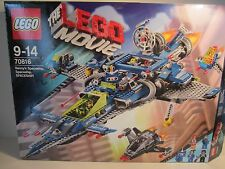 LEGO MOVIE Benny's Spaceship, Spaceship, SPACESHIP! (70816) Boxed w/instructions