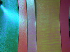 10 X A4 CRAFT LASER PAPER * SHERBET MIX *.STUNNING TEXTURED PAPER * 5 COLOURS