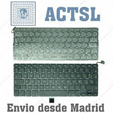 "TECLADO ESPAÑOL APPLE MACBOOK A1278 MB467 13.3"" NEGRO"