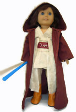"Halloween Rey Costume for 18"" American Girl Doll Clothes Galactic Warrior"