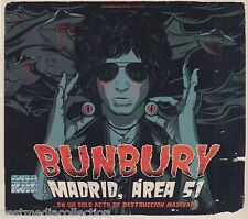 2 CDs / 2 DVDs Enrique Bunbury CD Madrid Arte 51 En Un Solo Acto De Destruccion