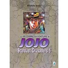 LE BIZZARRE AVVENTURE DI JOJO - STARDUST CRUSADERS 5 DI 10 - STAR COMICS NUOVO