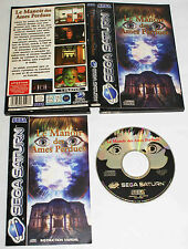 LE MANOIR DES AMES PERDUES sur Sega SATURN