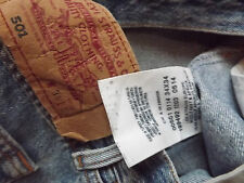 "Levis 501 Regular Fit de Superdry W34"" L34"" Azul (original) 237"