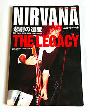 Nirvana The Legacy Japan Photo History Book 1997 Kurt Cobain Foo Fighters