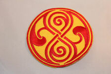 Doctor Who Rassilon Red/Yellow Embroidered Patch