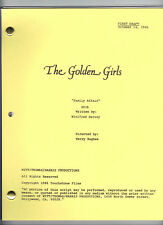 "THE GOLDEN GIRLS script ""Family Affair"""