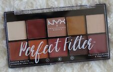 New NYX Cosmetics Rustic Antique Perfect Filter Shadow Palette 0.6 Oz