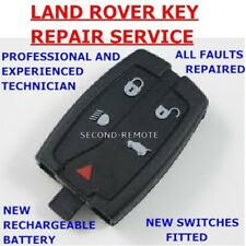 Land Rover Freelander 2 Remote Key Fob Repair New Battery Fix Service
