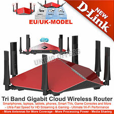 D-Link DIR-890L Wireless AC3200 Ultra Tri-Band Gigabit 4-Port Router 3200Mbps