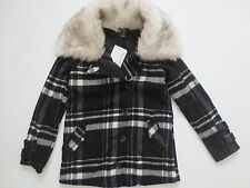 Oakley Women Abudant Black White Plaid Wool Jacket  - 511460 - Size XS - NWT