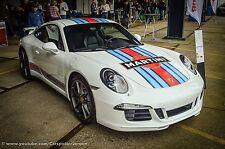 Porsche 911 Martini-RALLY COCHE CALCOMANÍAS GRÁFICOS/