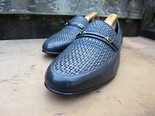 CROCKETT & JONES LOAFERS – GREY / GRAY – UK 8 – WORN ONCE