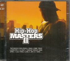 2 CD COMPIL 39 TITRES--HIP HOP MASTERS II--DMX/LUDACRIS/DOG/2PAC/WU TANG CLAN...