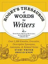 Roget's Thesaurus of Words for Writers: Over 2,300 Emotive, Evocative, Descripti