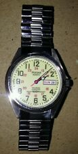 Seiko Pulsar Railroad Approved Quartz Men's Watch (WR) 100m EX Cond!!