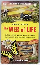 THE WEB OF LIFE by John H. Storer 1956 vintage paperback gc (Ecology)