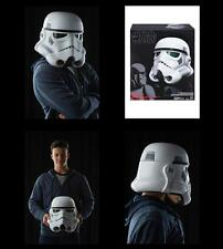 -= ]HASBRO-Star Wars RO Black Se.Electronic Voice Change Helmet Stormtrooper[ =-