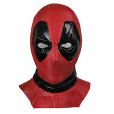 X-Men - Deadpool Mask Balaclava Halloween Hood Cosplay Full Face Latex Mask