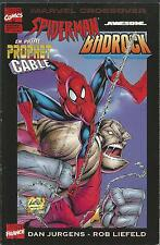 Marvel Crossover 7. Spider-Man/Badrock - Prophet/Cable
