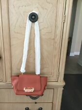 Zac Posen Eartha Xbody W/Fld Dark Orange Clutch/Crossbody Bag