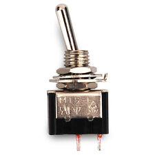 Miniatur Kippschalter, 2 Schaltstellungen, 2 Kontakte 1 Schließer Mini Schalter