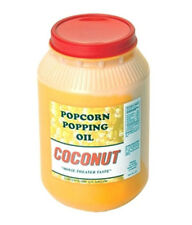 Coconut Oil for Popping One gallon #1015 Paragon Popcorn Concession Supplies