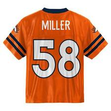 (2016-2017) Denver Broncos VON MILLER nfl Jersey YOUTH KIDS BOYS (s-small)