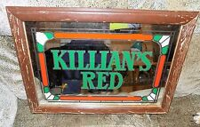 KILLIANS RED  BEER 20X14 MIRROR WITH PAINTED FRAME