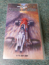 GOODWOOD MOTOR CIRCUIT FESTIVAL OF SPEED  2001 VHS TAPE VIDEO