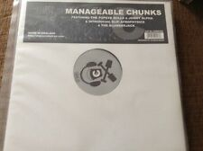 """manageable chunks - abstract drum and  bass , 12"""" vinyl"""