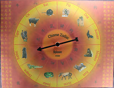 CHINESE ZODIAC SPINNER Oracle Divination Fortune Telling Game Totems Astrology
