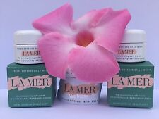 2 x LA MER THE MOISTURIZING SOFT CREAM .24 FL.OZ/7 mL