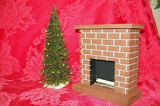 "MINIATURE CHRISTMAS TREE for Doll House, Model Railroad, Diorama, - 7"" Tall"