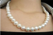 8-9mm WHITE SALT WATER AKOYA CULTURED PEARL NECKLACE