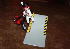 Playmobil personnage clown acrobate vélo rampe tremplin cirque Romani ref ff
