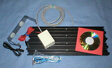 "SLOT CAR TRACK 9"" AFX OR YOUR TRACK TYPE LAP COUNTER /TIMER 4LANE P&P USB SYSTEM"