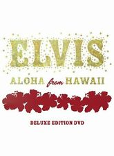 VGC! Elvis Aloha From Hawaii DELUXE EDITION (2 DISC DVD SET, 2004) UK SELLER