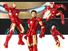 The Avengers Ironman Iron Man Tony Stark Mark III MK3 LED Figure Figurine No Box
