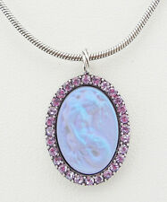 KIRKS FOLLY LORELEI DIVA MERMAID NECKLACE ST/ VIOLET CRYSTAL  ~~NEW RELEASE~~